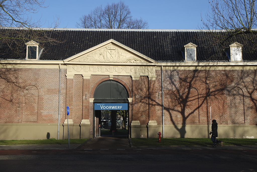 Oude poort Kattenburgerstraat 5, Marineterrein Amsterdam - foto Maarten Pedroli