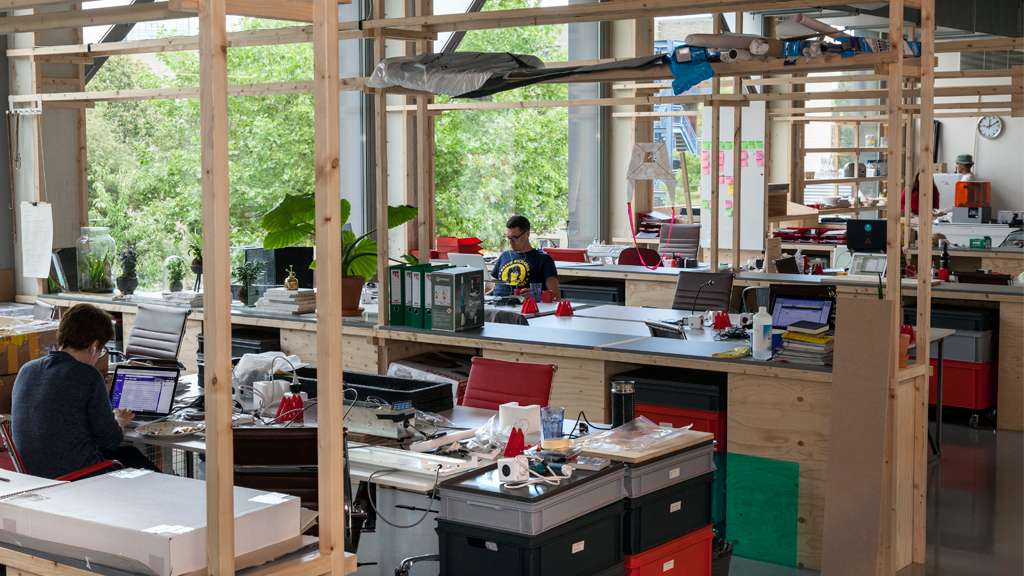 Kade West, Makerversity, Marineterrein Amsterdam - foto: Makerversity