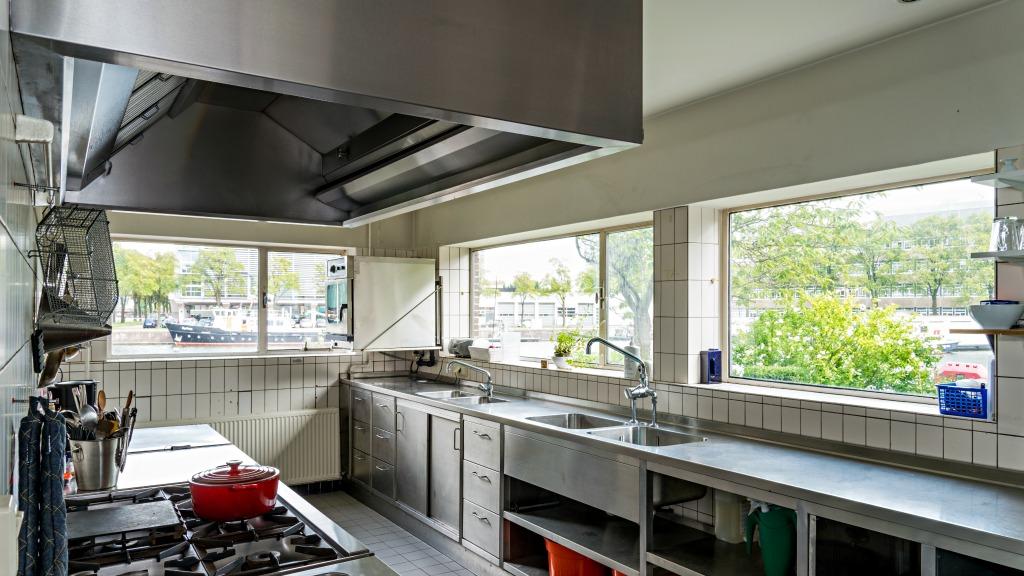 De keuken van de Commandantswoning