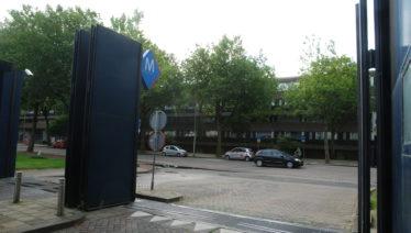 Blauwe poort nu enige entree voor auto's