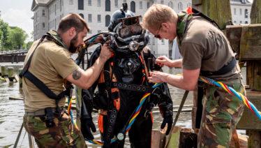 Spectaculaire acties tijdens aanleg boardwalk